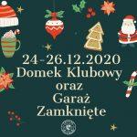 Informacja dotycząca Świąt Bożego Narodzenia